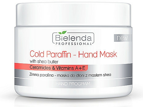 Cold Paraffin Hand Mask with Shea Butter Extract - Bielenda Professional Cold Paraffin Hand Mask With Shea Butter (400 g)
