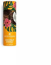 "Fragrances, Perfumes, Cosmetics Lip Balm ""Coconut Energy"" - Orientana"