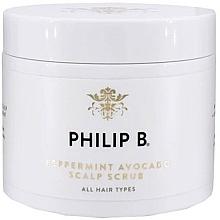 Fragrances, Perfumes, Cosmetics Mint & Avocado Scalp Scrub - Philip B Peppermint Avocado Scalp Scrub