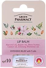 Fragrances, Perfumes, Cosmetics Lip Balm with 5 Oils - Green Pharmacy Lip Balm With 5 Oils SPF 10