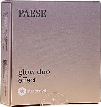 Fragrances, Perfumes, Cosmetics Powder and Blush - Paese Nanorevit Glow Duo Effect Powder And Blush