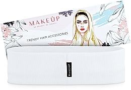 "Fragrances, Perfumes, Cosmetics Headband, white ""Be Beauty"" - MakeUp"