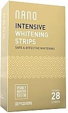 Fragrances, Perfumes, Cosmetics Whitening Tooth Strips - WhiteWash Nano Intensive Whitening Strips