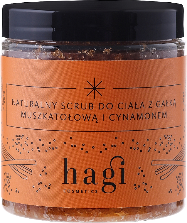 Natural Body Scrub with Nutmeg and Cinnamon - Hagi Scrub