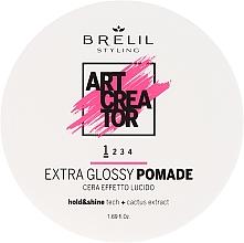 Fragrances, Perfumes, Cosmetics Light Hold Extra Glossy Hair Creator Pomade - Brelil Art Creator Extra Glossy Pomade