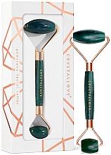 Fragrances, Perfumes, Cosmetics Facial Roller - Crystallove Aventurine Roller
