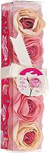 "Fragrances, Perfumes, Cosmetics Bath Confetti ""Rose"", 5 pcs - Spa Moments Bath Confetti Rose"