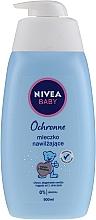 Fragrances, Perfumes, Cosmetics Body Velvet Moisturizing Milk - Nivea Baby Velvet Moisturizing Milk