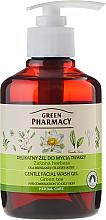 "Fragrances, Perfumes, Cosmetics Gentle Washing Gel ""Green Tea"" - Green Pharmacy"