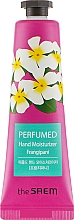 "Fragrances, Perfumes, Cosmetics Perfumed Hand Cream ""Red Jasmine"" - The Saem Perfumed Frangipani Hand Moisturizer"