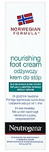Fragrances, Perfumes, Cosmetics Nourishing Foot Cream - Neutrogena Nourishing Foot Cream 24H