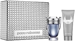 Fragrances, Perfumes, Cosmetics Paco Rabanne Invictus - Set (edt/100ml + sh/gel/100ml)