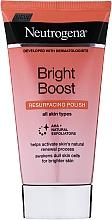 Fragrances, Perfumes, Cosmetics Face Peeling - Neutrogena Bright Boost Resurfacing Micro Face Polish with Glycolic and Mandelic AHAs