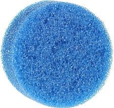 Fragrances, Perfumes, Cosmetics Anti-Cellulite Sponge, Round, Blue - Inter-Vion