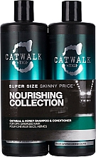 Fragrances, Perfumes, Cosmetics Set - Tigi Catwalk Oatmeal & Honey (shm/750ml + cond/750ml)