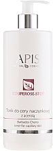 Fragrances, Perfumes, Cosmetics Soft Anti-Couperose Face Tonic with Acerola Extract - Apis Professional Couperose-Stop Barbados Cherry Tonner