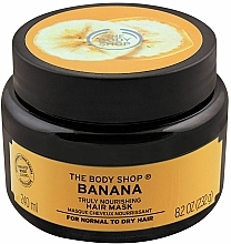 Fragrances, Perfumes, Cosmetics Nourishing Banana Hair Mask - The Body Shop Banana Truly Nourishing Banana Hair Mask