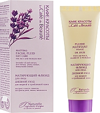 """Fragrances, Perfumes, Cosmetics Mattifying Face Fluid for Oily and Problem Skin """"Day Care"""" - Le Cafe de Beaute Matting Fluid"""