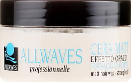 Fragrances, Perfumes, Cosmetics Hair Wax with Matte Effect - Allwaves Matt Hair Wax