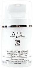 Fragrances, Perfumes, Cosmetics Acid Exfoliation Mix - APIS Professional Lacticion + Pirogron + Milk + Azelaine 40%
