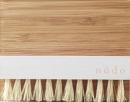 Fragrances, Perfumes, Cosmetics Bamboo Nail Brush with Sisal Bristles - Nudo Nature Made Bamboo Nail Brush With Sisal Bristles