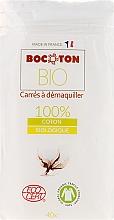 Fragrances, Perfumes, Cosmetics Square Cotton Pads, 75x75 mm, 40 pcs - Bocoton