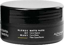 Fragrances, Perfumes, Cosmetics Matte Medium Hold Hair Paste - Alfaparf Milano Blends Of Many Matte Paste