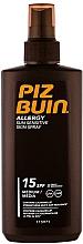 Fragrances, Perfumes, Cosmetics Sunscreen Body Spray - Piz Buin Allergy Spray Spf15
