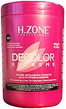 Fragrances, Perfumes, Cosmetics Bleaching Hair Powder - H.Zone Decolor Extreme