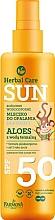 Fragrances, Perfumes, Cosmetics Kids Waterproof Milk for Tan - Farmona Herbal Care Sun SPF 50