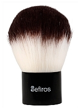 Fragrances, Perfumes, Cosmetics Kabuki Brush - Sefiros Black & White Kabuki Brush