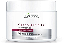 Fragrances, Perfumes, Cosmetics Alginate Face Mask with Plant Stem Cells - Bielenda Professional Face Algae Mask