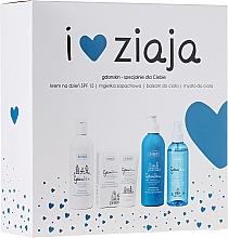 Fragrances, Perfumes, Cosmetics Set - Ziaja GdanSkin (cr/50ml + spray/200ml + balm/300ml + soap/300ml)