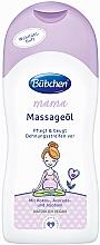 Fragrances, Perfumes, Cosmetics Massage Oil - Bubchen Mama Massage Oil