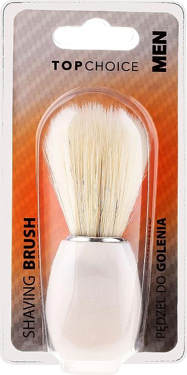 Shaving Brush, 30338, white - Top Choice — photo N1