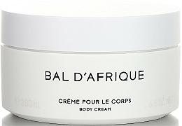 Fragrances, Perfumes, Cosmetics Byredo Bal D`Afrique - Body Cream