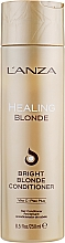 Fragrances, Perfumes, Cosmetics Healing Conditioner for Natural & Bleached Blonde Hair - L'anza Healing Blonde Bright Blonde Conditioner
