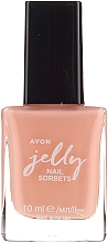 Fragrances, Perfumes, Cosmetics Nail Polish - Avon Jelly Nail Sorbet