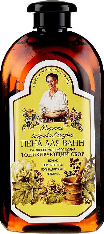 "Soaproot-based Bubble Bath ""Toning Blend"" - Retsepty Babushki Agafi"