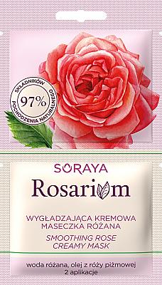 Smoothing Rose Creamy Mask - Soraya Rosarium Smoothing Cream Rose Mask
