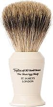 Fragrances, Perfumes, Cosmetics Shaving Brush, P376 - Taylor of Old Bond Street Shaving Brush Pure Badger size L