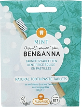 Fragrances, Perfumes, Cosmetics Mint Fluoride Toothpaste Tablets - Ben&Anna Mint Toothpaste Tablets With Fluoride