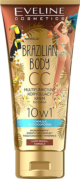 Body Waterproof Multi Functional CC Crea - Eveline Cosmetics Brazilian Body Waterproof Multi Functional CC Cream