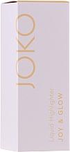 Fragrances, Perfumes, Cosmetics Liquid Highlighter - Joko Joy & Glow Liquid Highlighter