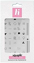 Fragrances, Perfumes, Cosmetics Nail Stickers - Hi Hybrid Simple Nail Stickers