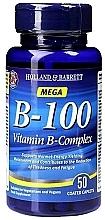 """Fragrances, Perfumes, Cosmetics Food Supplement """"Vitamin B-Complex"""" - Holland & Barrett Mega B-100 Vitamin B Complex"""