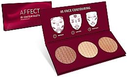 Fragrances, Perfumes, Cosmetics Face Contour Palette - Affect Cosmetics Contour Palette
