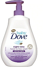 Fragrances, Perfumes, Cosmetics Soothing Cleansing Gel - Dove Baby Calming Nights Baby Night Time Head To Toe Wash