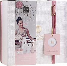 Fragrances, Perfumes, Cosmetics Set - Rituals The Ritual Of Sakura (sg/gel/200ml + b/cr/70ml + mist/50ml + scrub/125g)