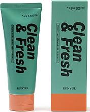 Fragrances, Perfumes, Cosmetics Cleansing Pore Tightening Face Foam - Eunyul Clean & Fresh Pore Tightening Foam Cleanser